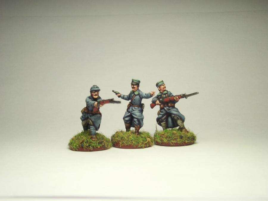 Фигурки: Армия Ю.Халлера. Советско-польская война., фото #11