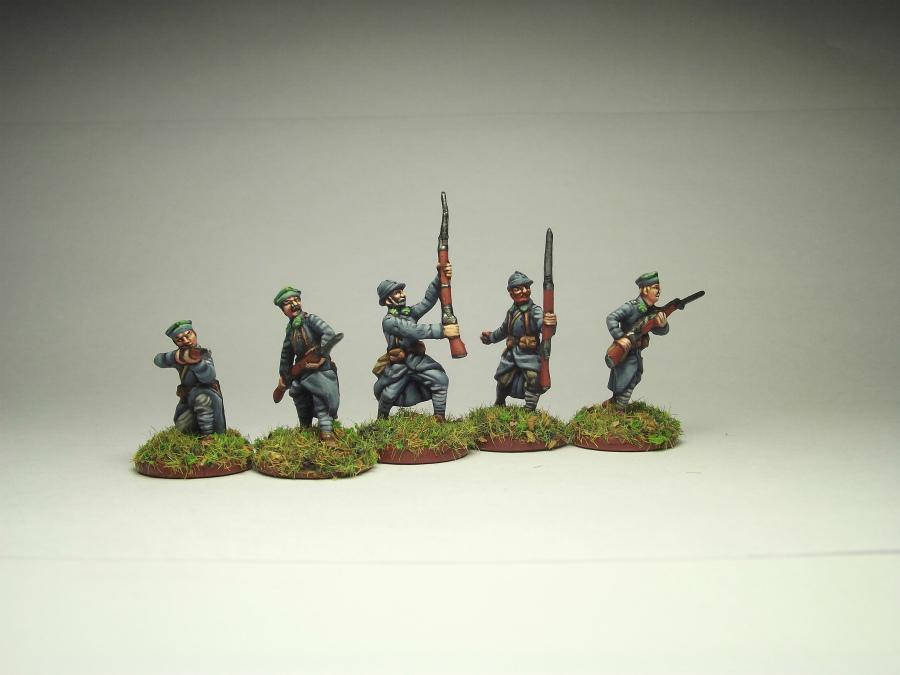 Фигурки: Армия Ю.Халлера. Советско-польская война., фото #3