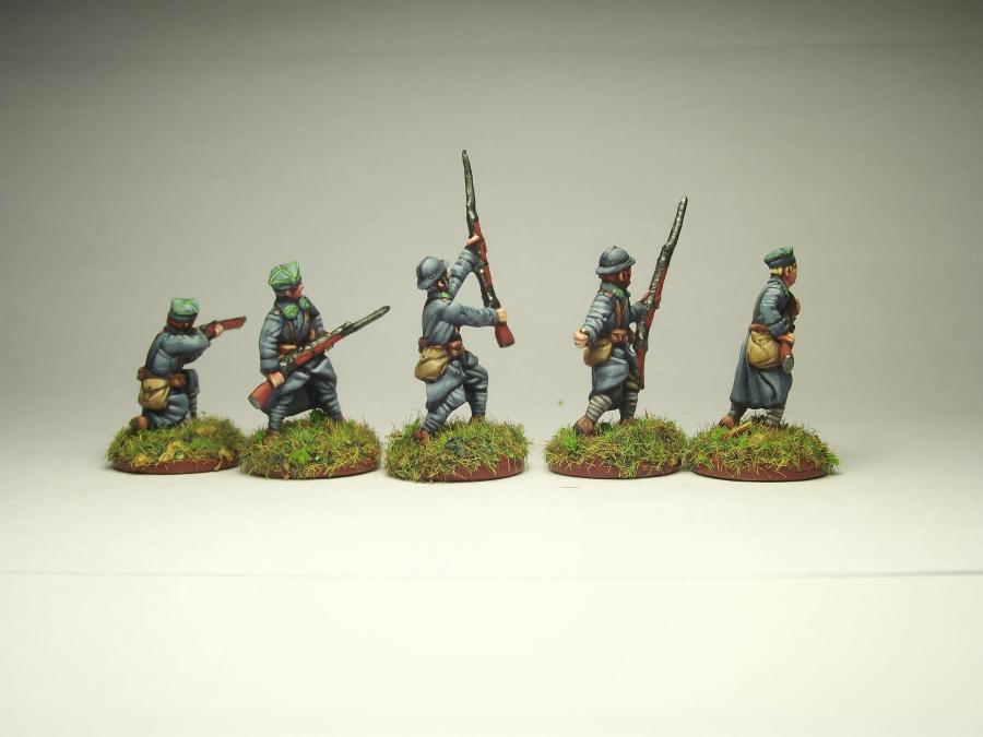 Фигурки: Армия Ю.Халлера. Советско-польская война., фото #4