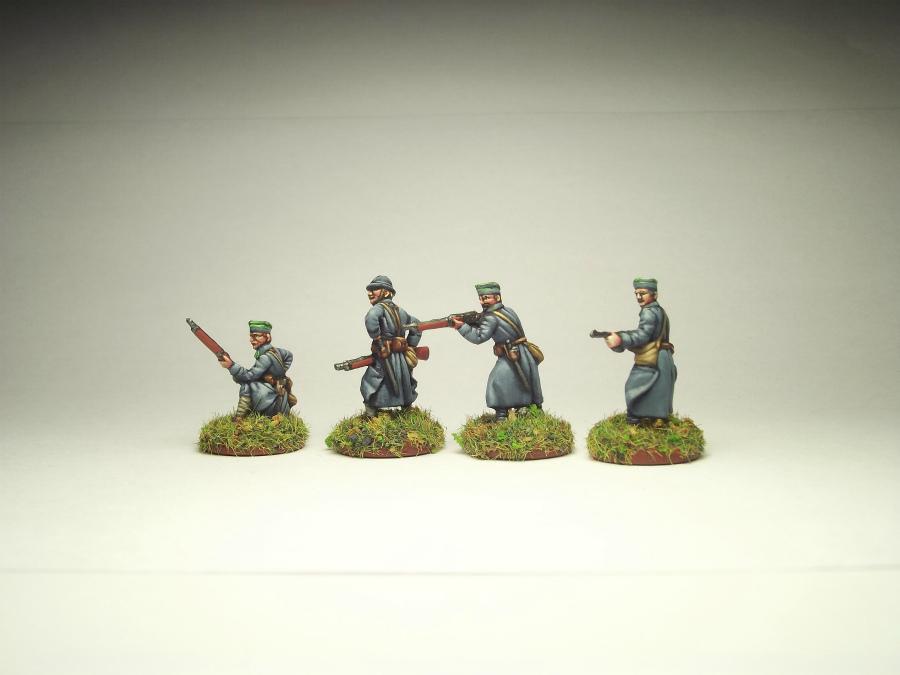 Фигурки: Армия Ю.Халлера. Советско-польская война., фото #6
