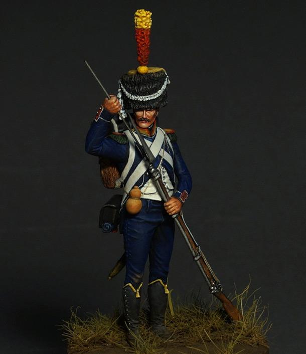 Фигурки: Вольтижер легкой пехоты 1809-12 гг.