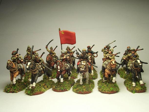 Фигурки: Красная кавалерия