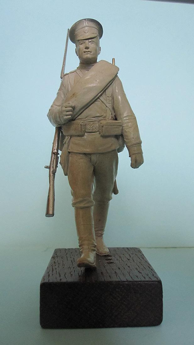 Скульптура: Гвардеец, 1914 г., фото #1