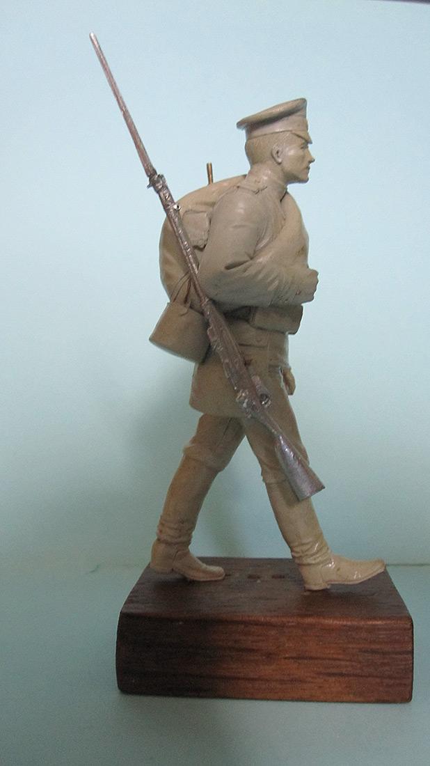 Скульптура: Гвардеец, 1914 г., фото #3