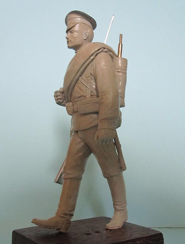 Скульптура: Гвардеец, 1914 г.
