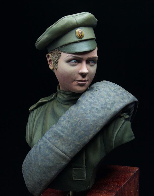 Фигурки: Боец женского батальона смерти, 1917 год