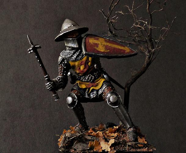 Фигурки: Германский рыцарь 1350-1370 гг.
