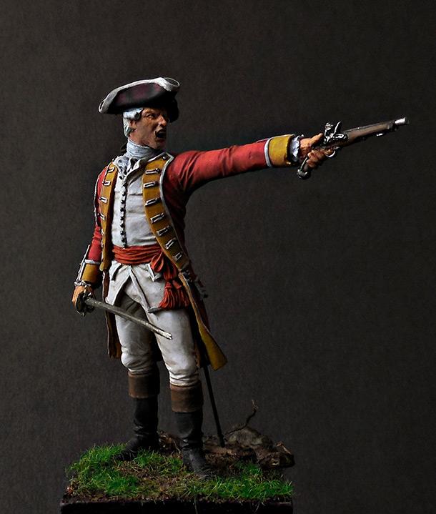 Фигурки: Британский офицер