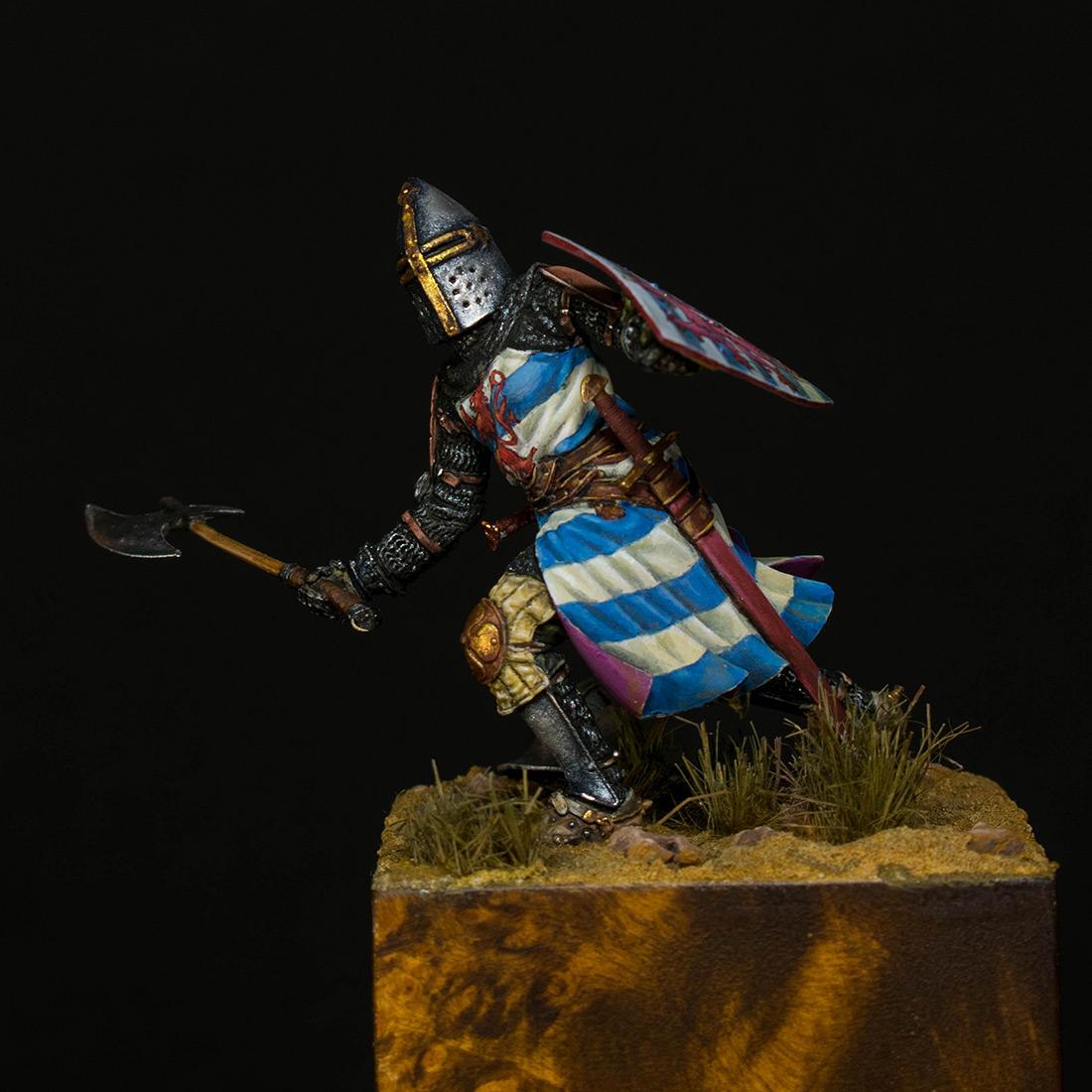 Фигурки: Гуго III де Лузиньян, ок. 1260 г., фото #1