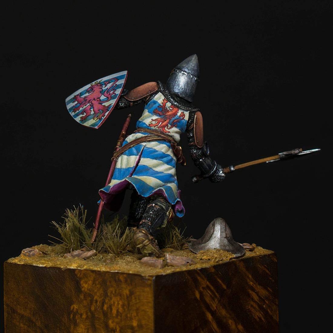 Фигурки: Гуго III де Лузиньян, ок. 1260 г., фото #4