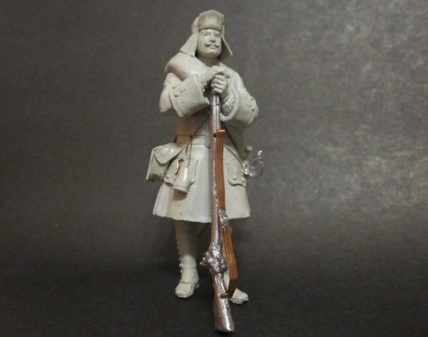 Скульптура: Фузилер, 1717г.