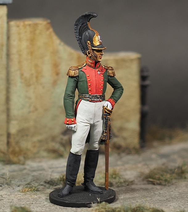 Фигурки: Полковник Лейб-гвардии Драгунского полка, 1810-15 гг.