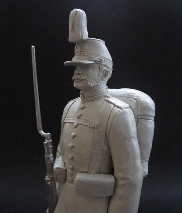 Скульптура: Гренадер, 1877 г.