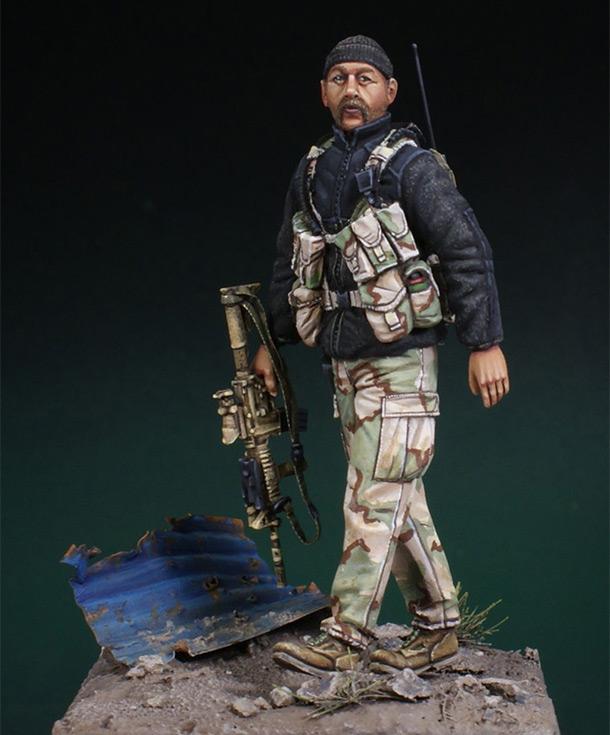 Фигурки: Зелёный берет. Афганистан 2001г.