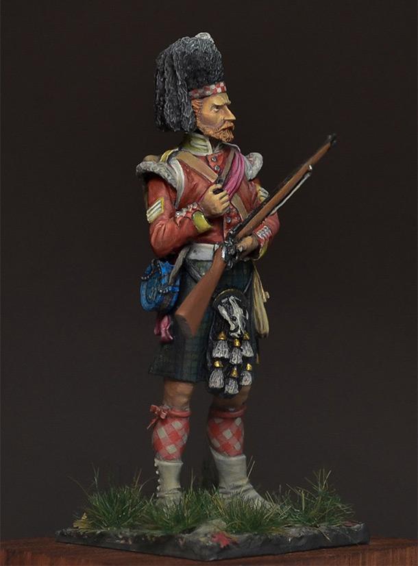 Фигурки: Колор-сержант, 93-й полк, 1854