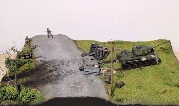 Диорамы и виньетки: Четыре танкиста и собака. Пари со смертью