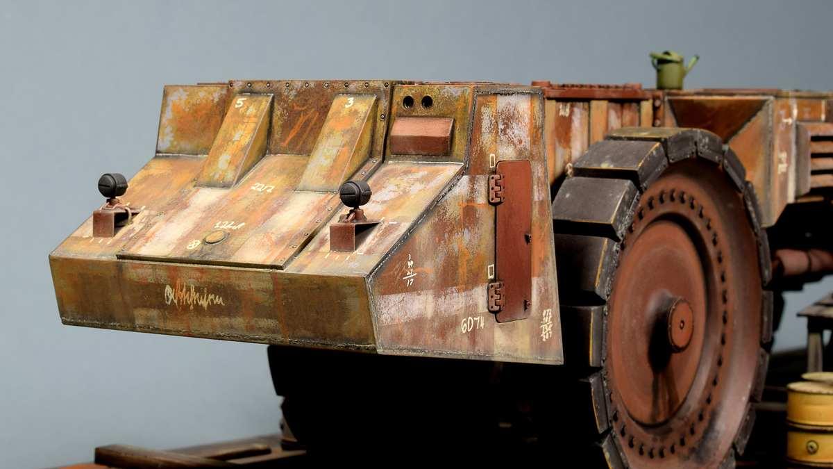 Диорамы и виньетки: Krupp Raumer S, фото #10