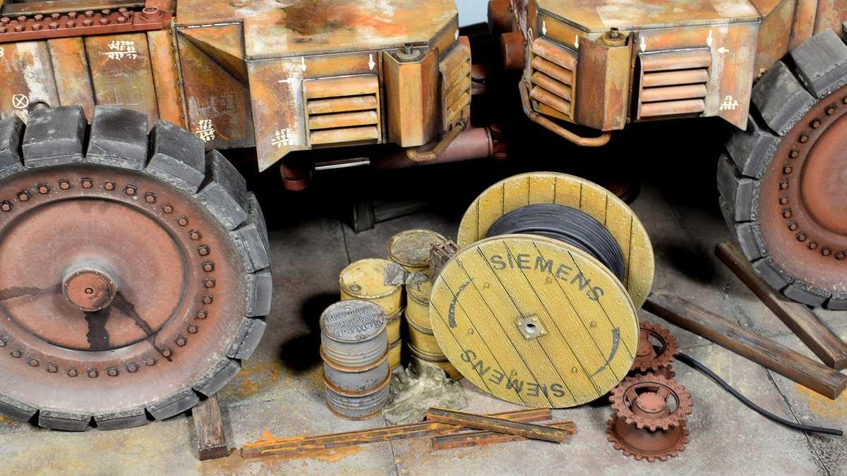 Диорамы и виньетки: Krupp Raumer S, фото #19