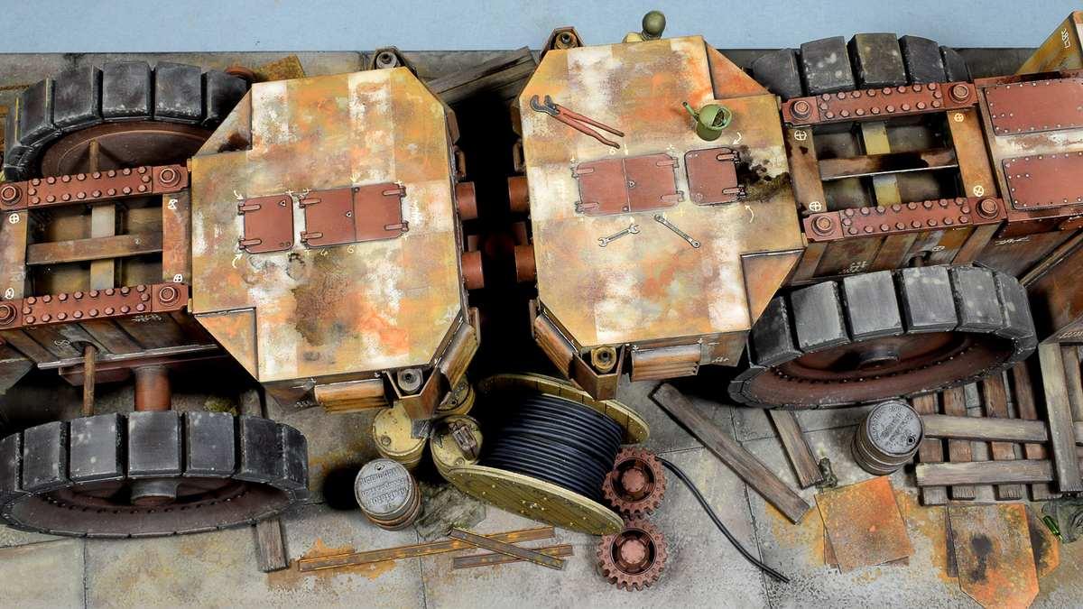 Диорамы и виньетки: Krupp Raumer S, фото #8