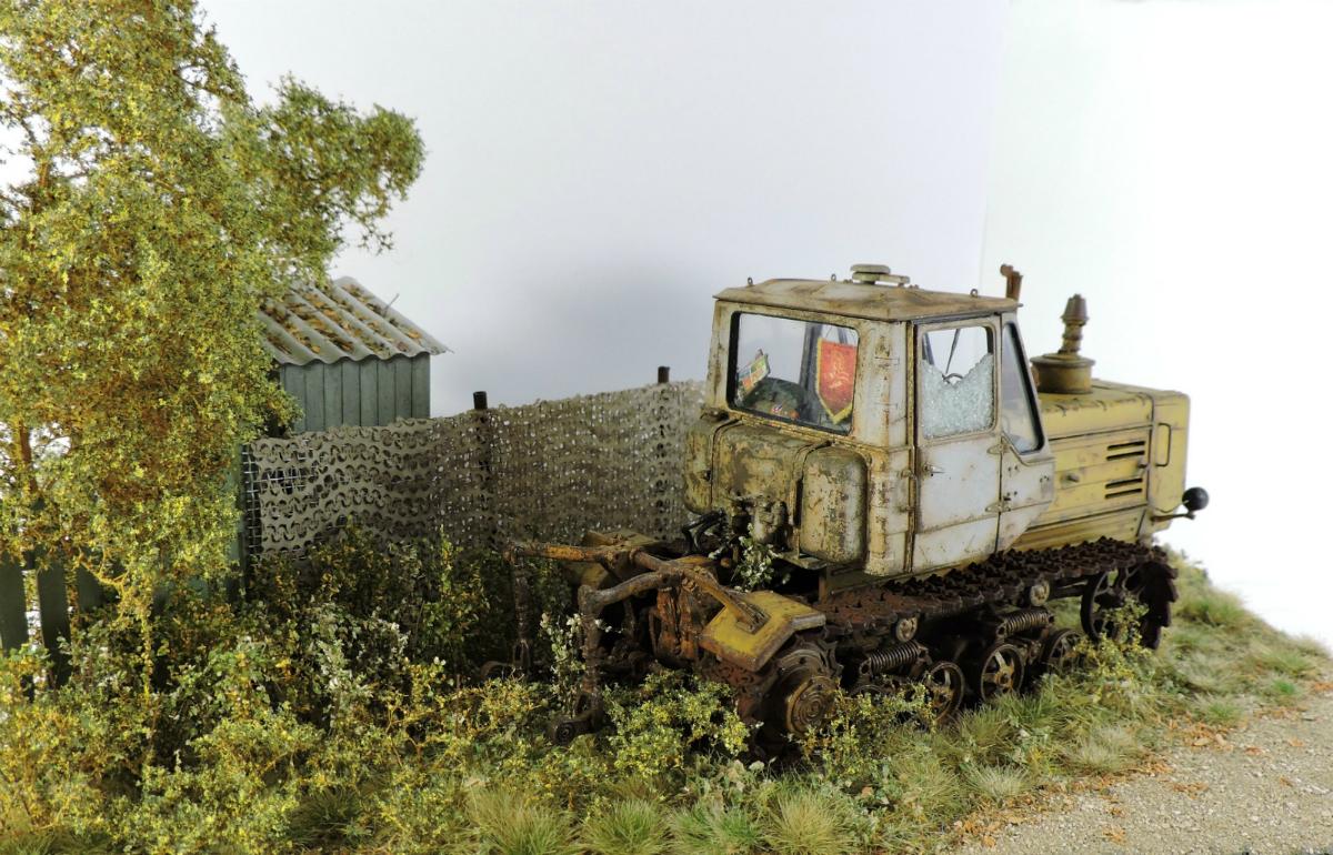 Диорамы и виньетки: Трактор Т-150, фото #5