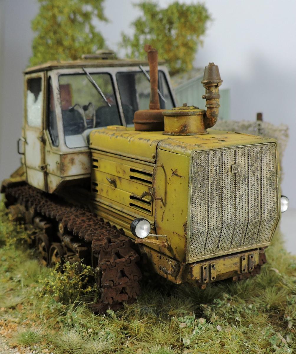 Диорамы и виньетки: Трактор Т-150, фото #6