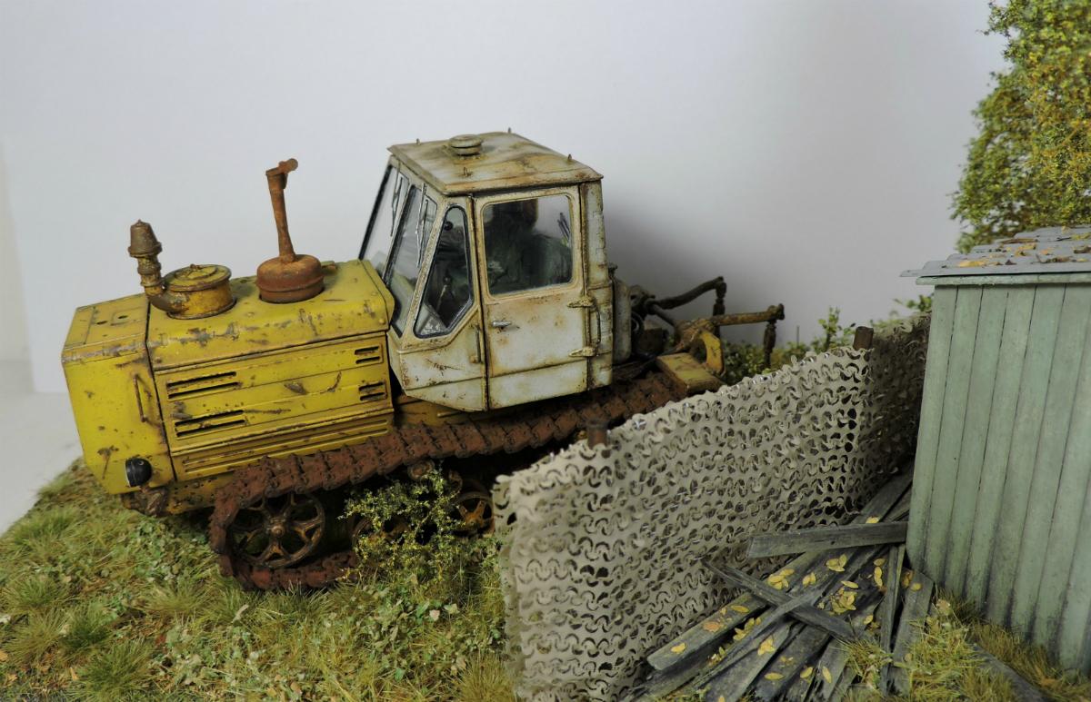 Диорамы и виньетки: Трактор Т-150, фото #7