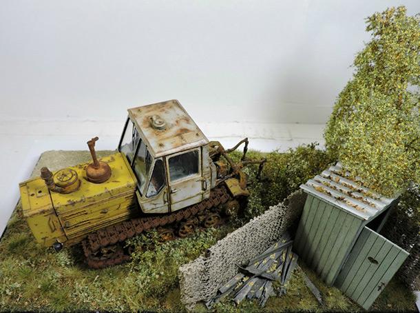 Диорамы и виньетки: Трактор Т-150