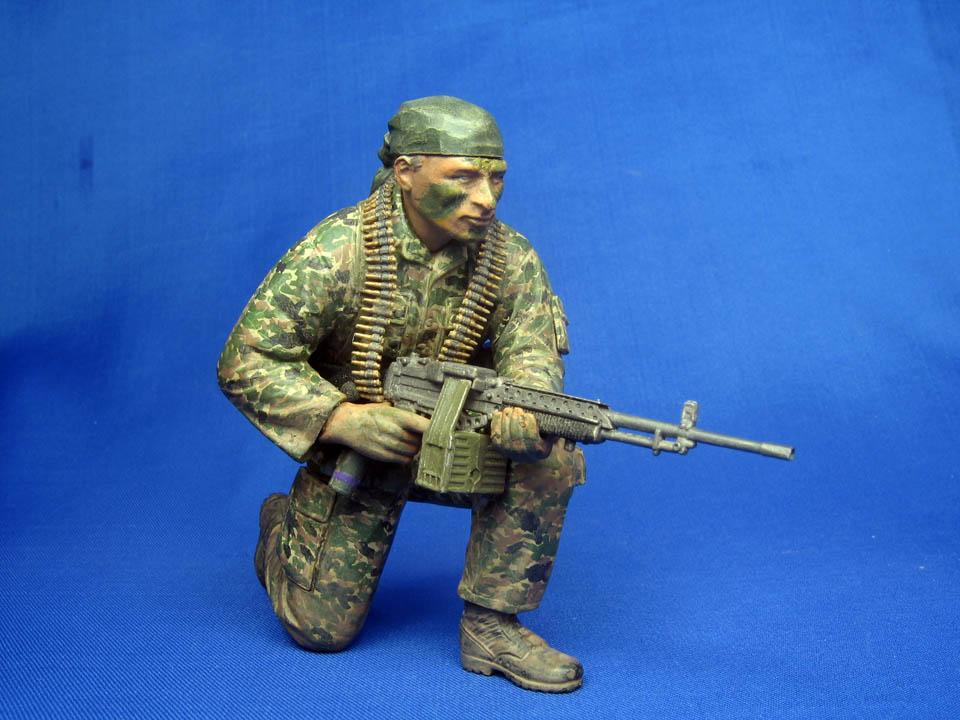 Фигурки: Боец Сил специальных операций США во Вьетнаме, фото #3