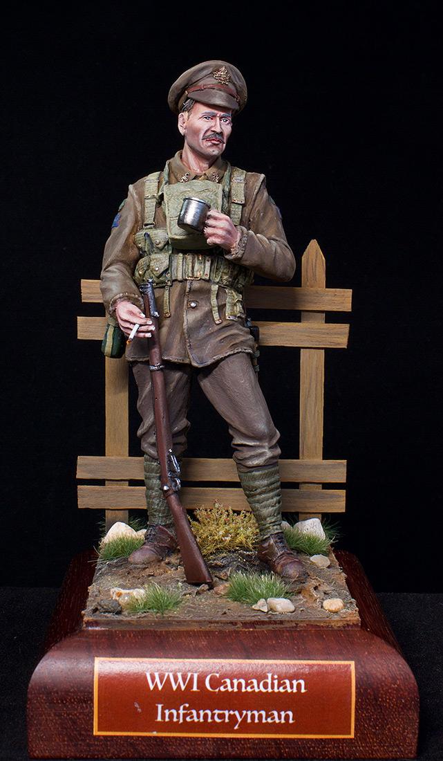 Фигурки: Канадский пехотинец, ПМВ, фото #1