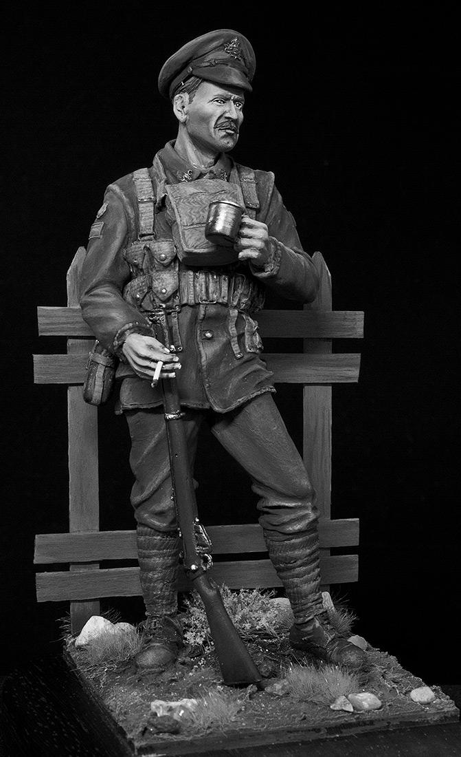 Фигурки: Канадский пехотинец, ПМВ, фото #17
