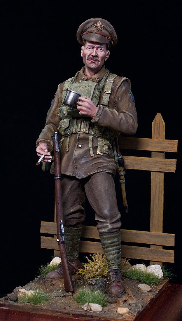 Фигурки: Канадский пехотинец, ПМВ, фото #2