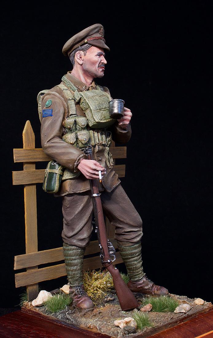 Фигурки: Канадский пехотинец, ПМВ, фото #8