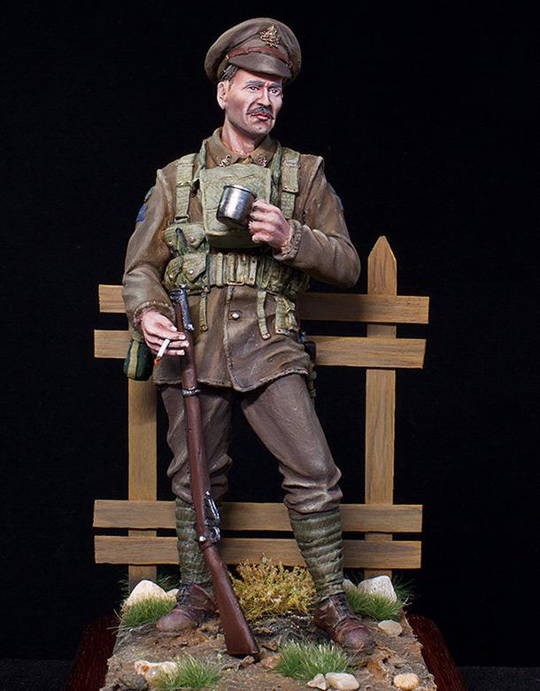 Фигурки: Канадский пехотинец, ПМВ