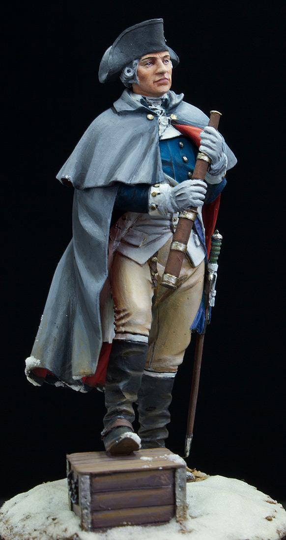Фигурки: Джордж Вашингтон, Велли Фордж, 1778., фото #12