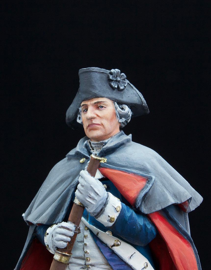 Фигурки: Джордж Вашингтон, Велли Фордж, 1778., фото #5