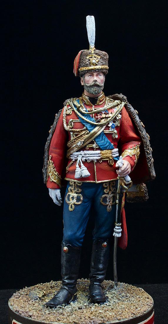 Фигурки: Николай II в форме Лейб-Гвардии Гусарского полка, 1907 г., фото #10