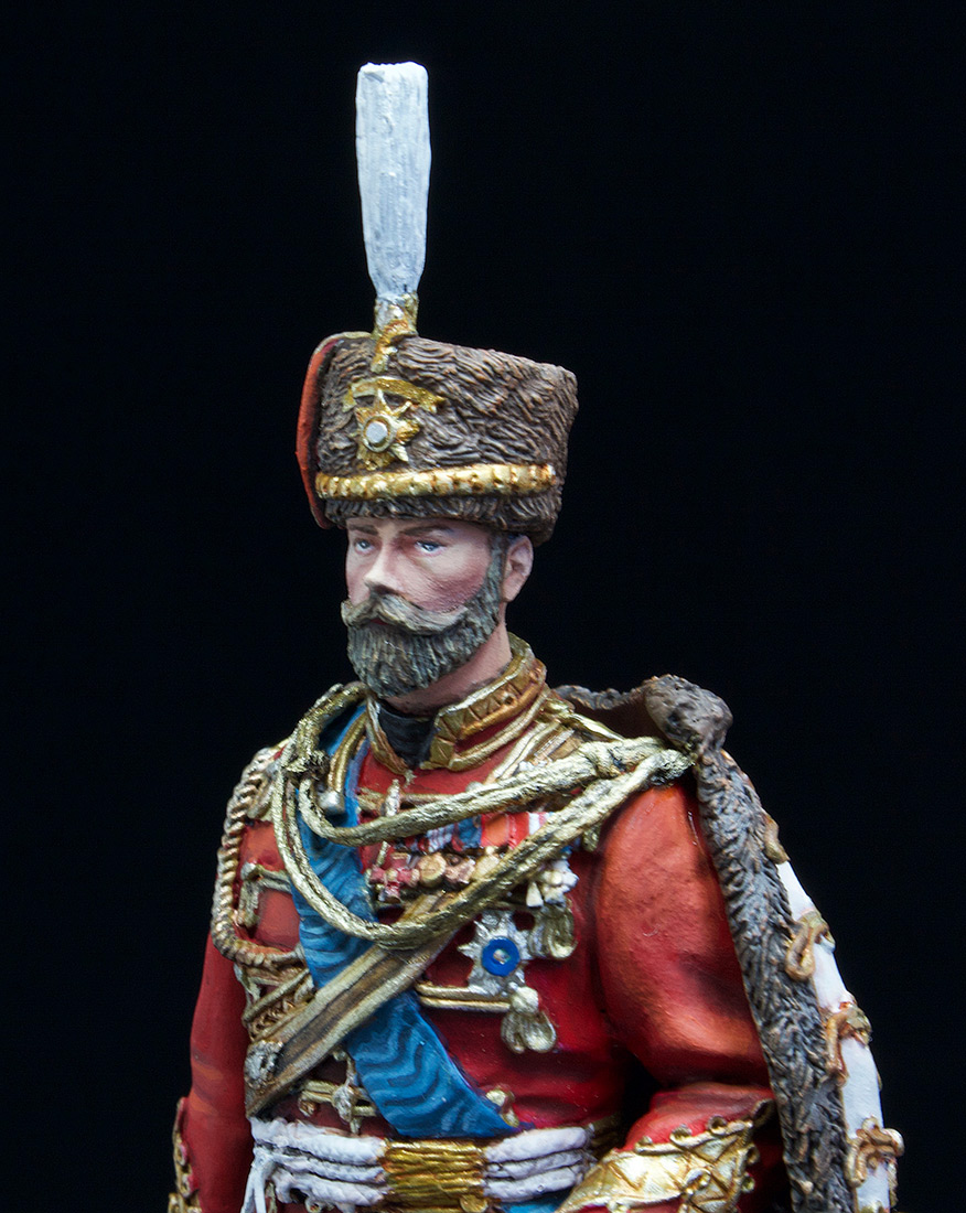 Фигурки: Николай II в форме Лейб-Гвардии Гусарского полка, 1907 г., фото #11
