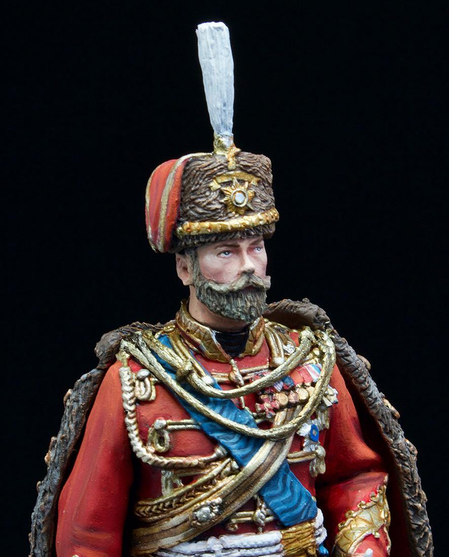 Фигурки: Николай II в форме Лейб-Гвардии Гусарского полка, 1907 г., фото #12