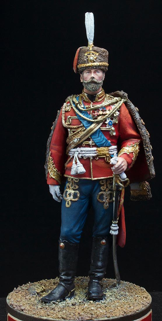 Фигурки: Николай II в форме Лейб-Гвардии Гусарского полка, 1907 г., фото #2