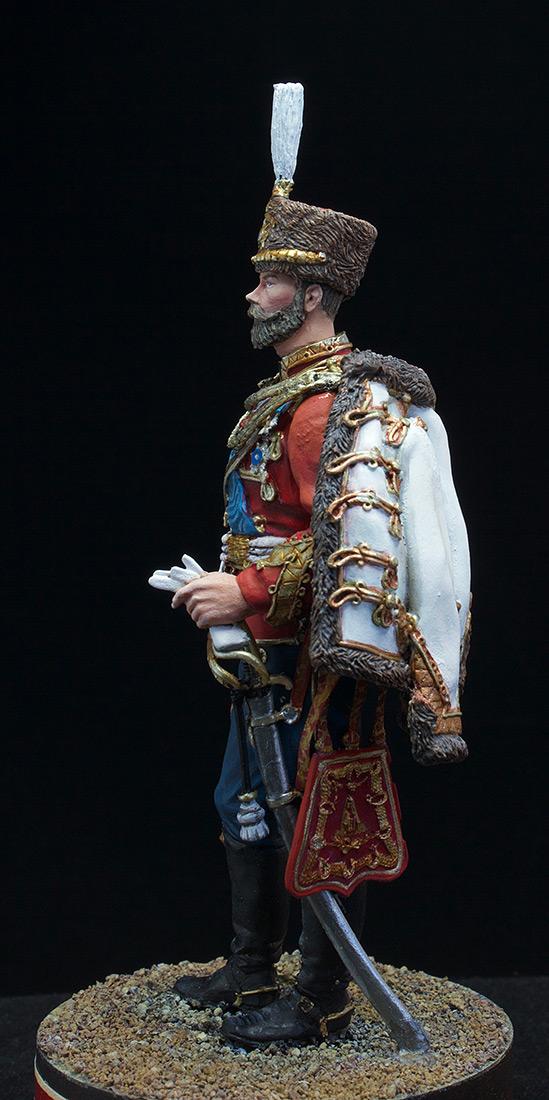 Фигурки: Николай II в форме Лейб-Гвардии Гусарского полка, 1907 г., фото #4