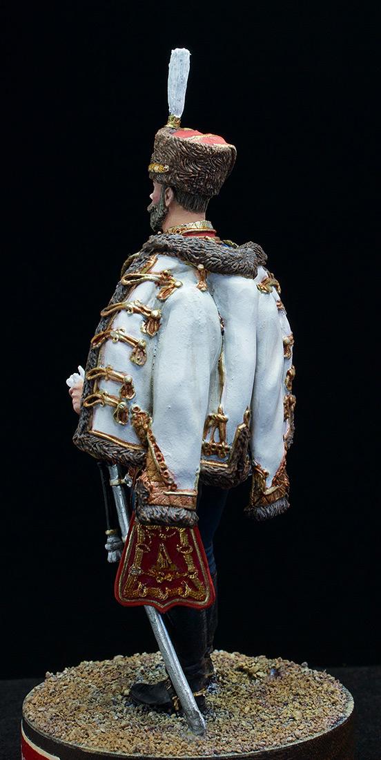 Фигурки: Николай II в форме Лейб-Гвардии Гусарского полка, 1907 г., фото #5