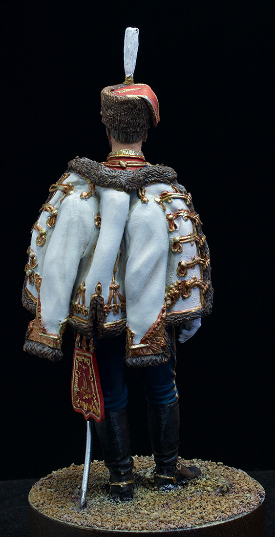 Фигурки: Николай II в форме Лейб-Гвардии Гусарского полка, 1907 г., фото #6
