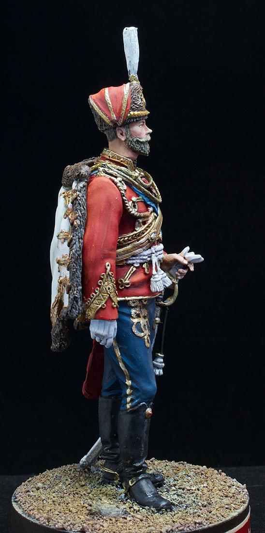 Фигурки: Николай II в форме Лейб-Гвардии Гусарского полка, 1907 г., фото #8