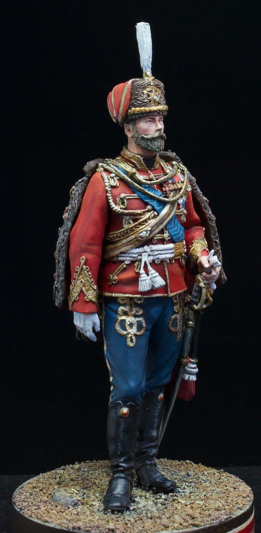 Фигурки: Николай II в форме Лейб-Гвардии Гусарского полка, 1907 г., фото #9