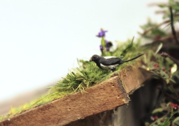 Диорамы и виньетки: Летний день в сельской местности, фото #12