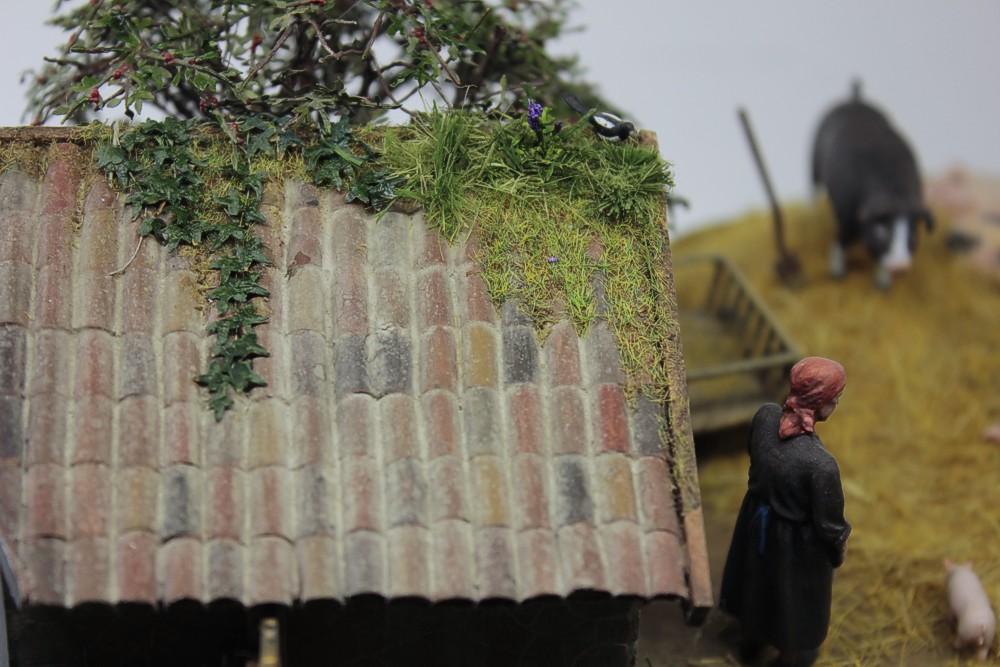 Диорамы и виньетки: Летний день в сельской местности, фото #16