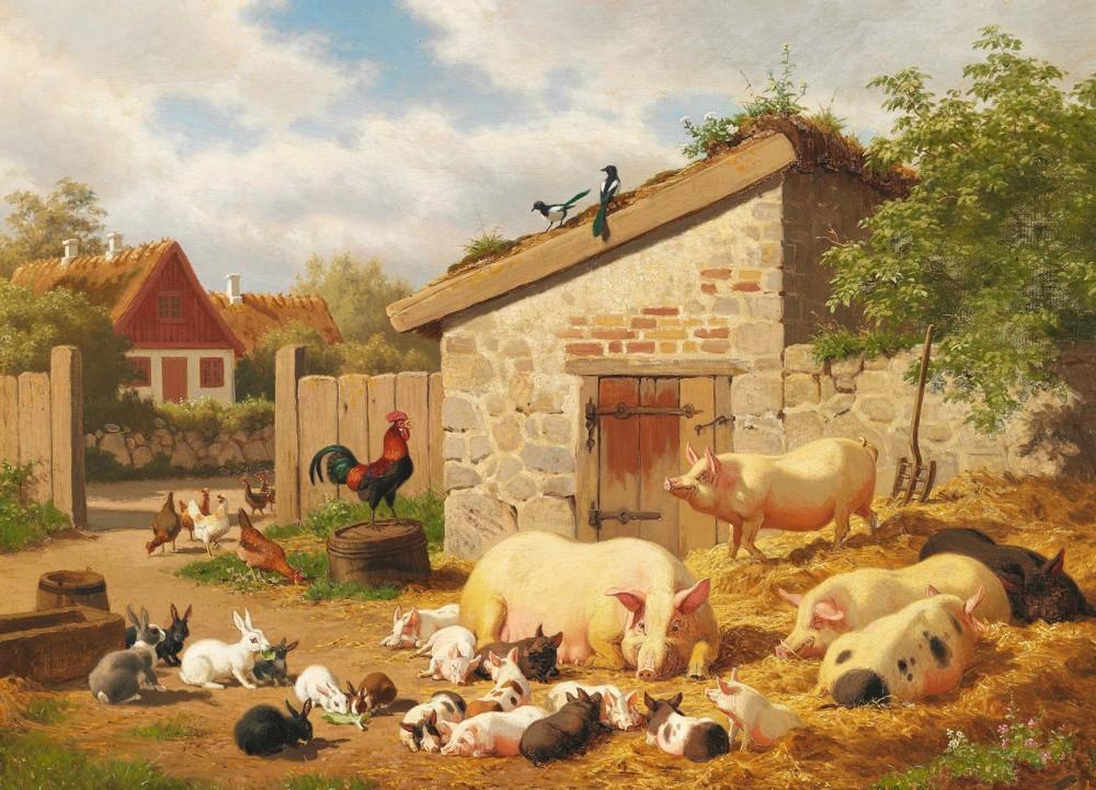 Диорамы и виньетки: Летний день в сельской местности, фото #18