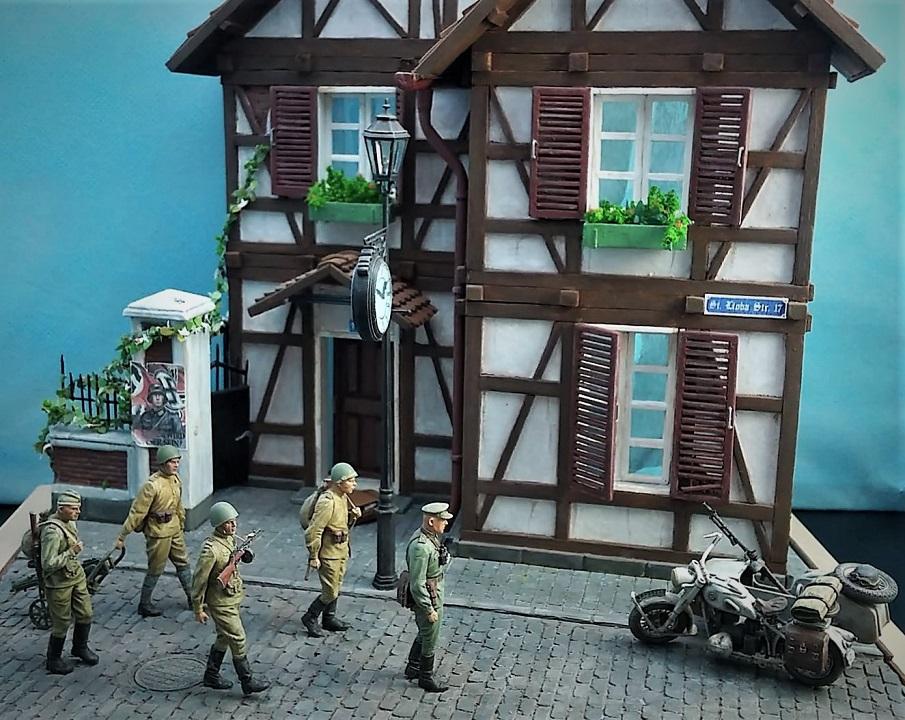 Диорамы и виньетки: 1945 г. Где-то в Германии, фото #1