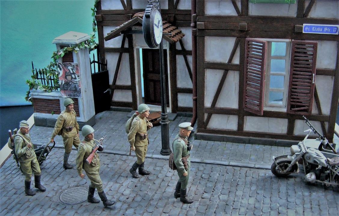 Диорамы и виньетки: 1945 г. Где-то в Германии, фото #10
