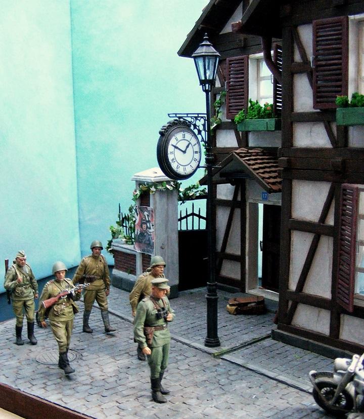 Диорамы и виньетки: 1945 г. Где-то в Германии, фото #11